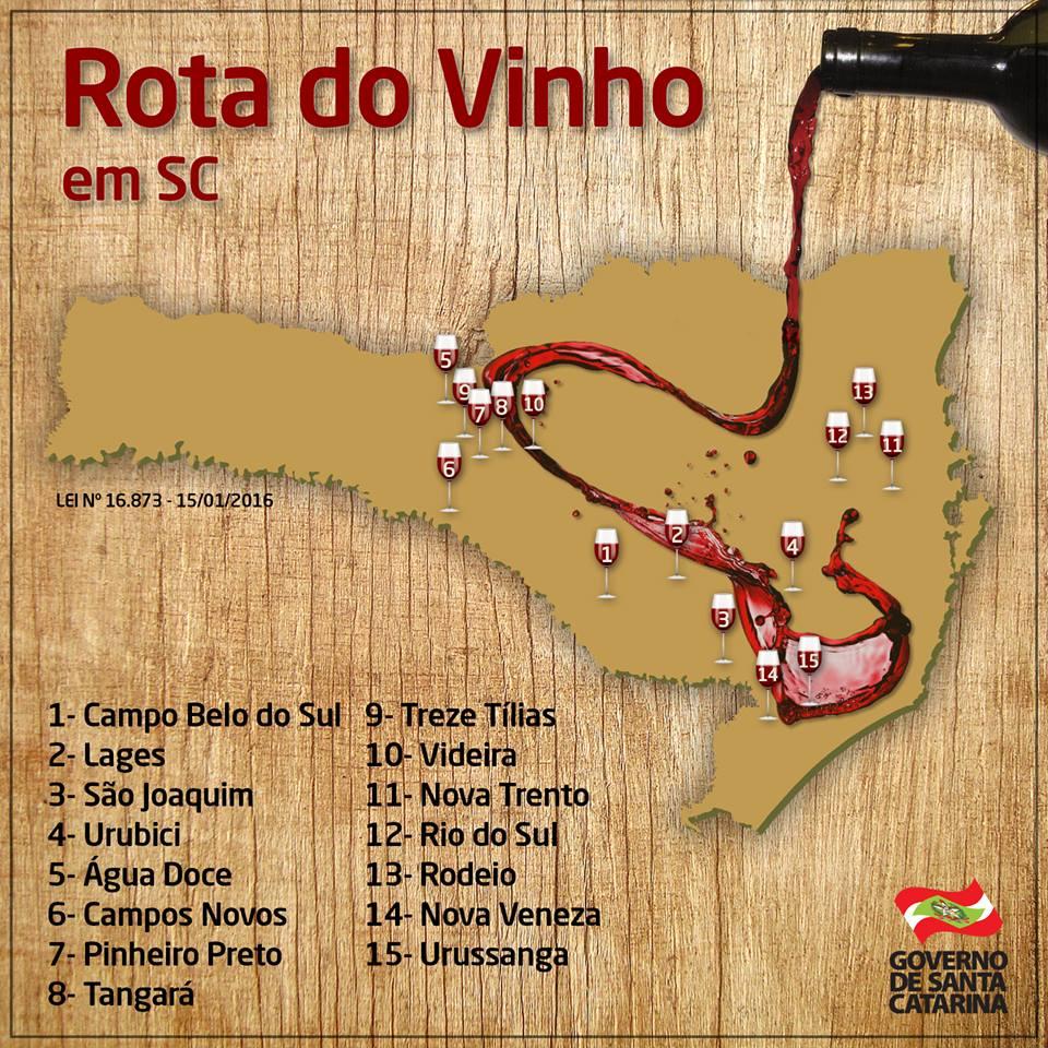 Rota dos Vinhos em Santa Catarina