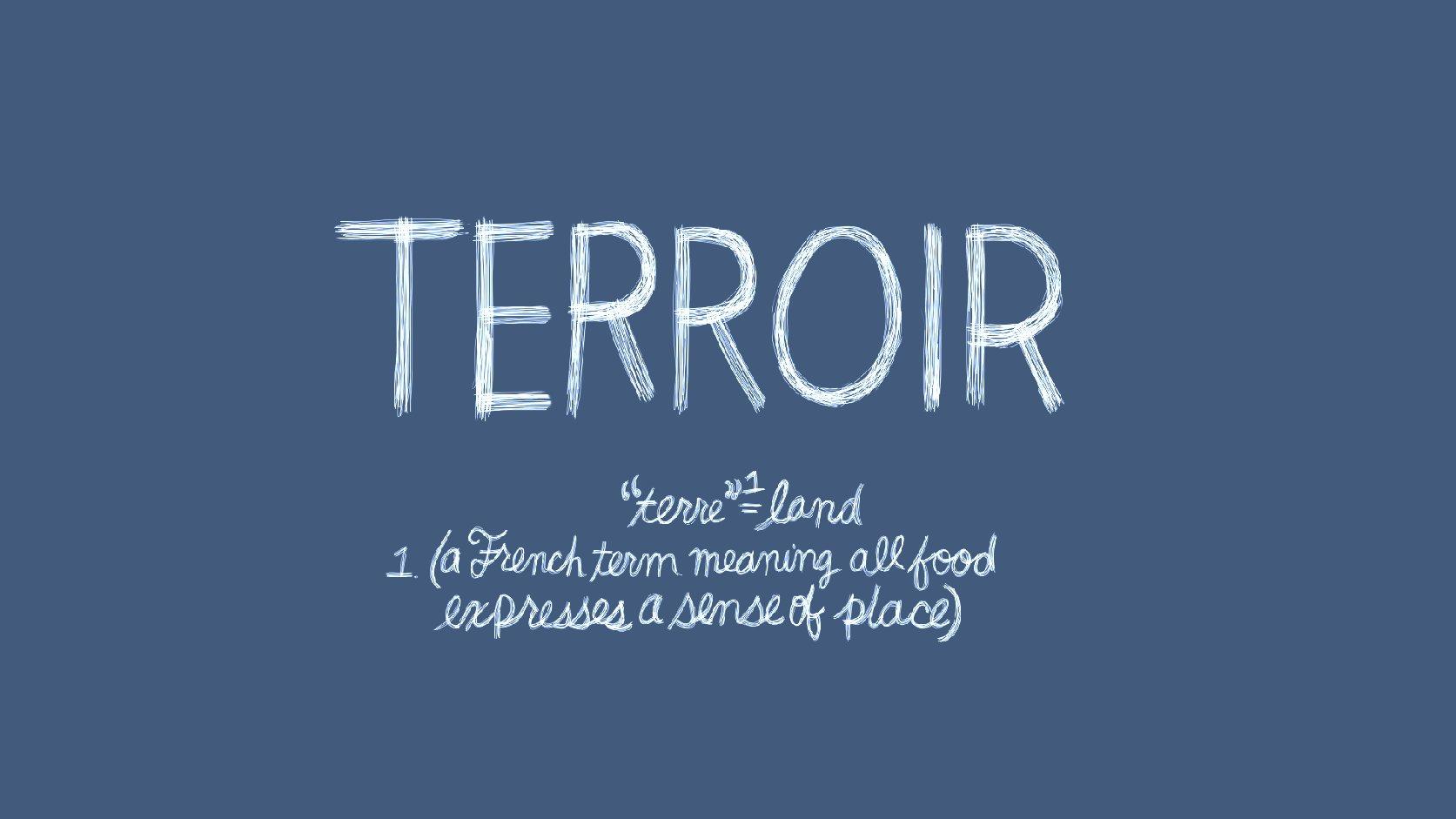 O que é TERROIR?