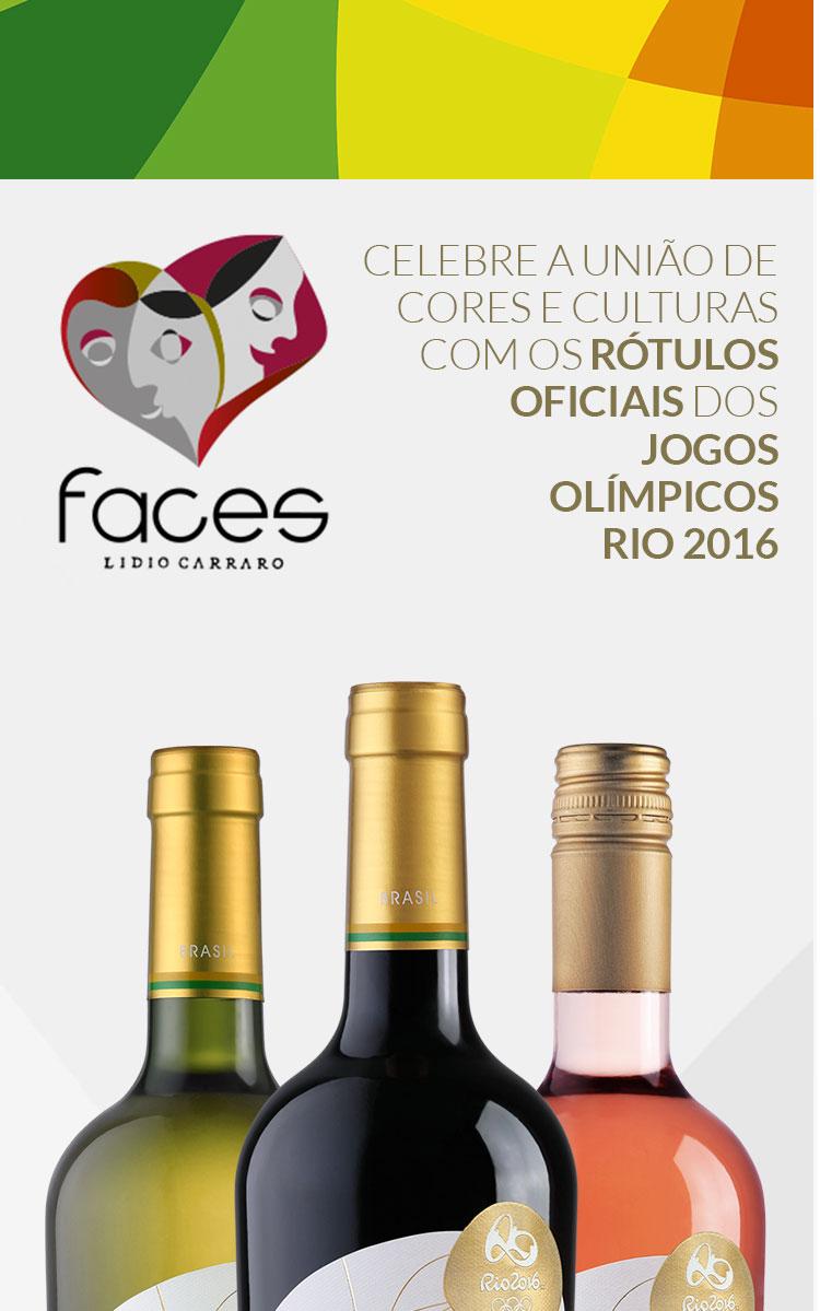 FACES – O Vinho Oficial dos Jogos Olímpicos Rio 2016