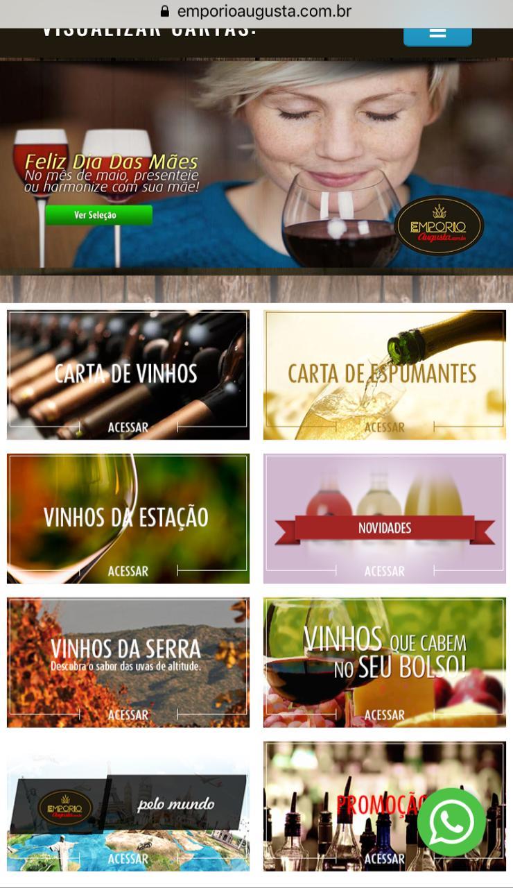 Comemore seu dia com Vinhos & Espumantes!
