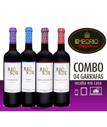 COMBOBOX 04 unid. VIinhos Varietais Rio Sol