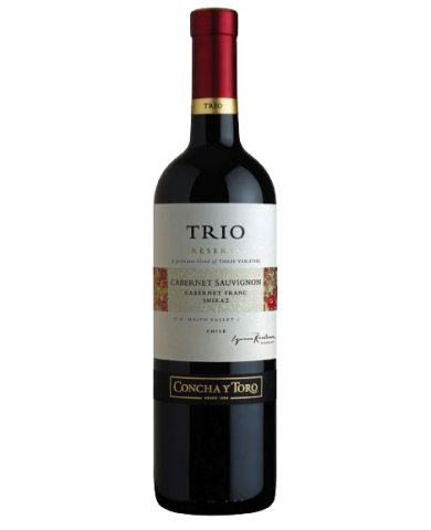CONCHA Y TORO TRIO Cabernet Sauvignon - Shiraz - Cabernet Franc