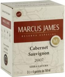 MARCUS JAMES Bag 3L Cabernet Sauvignon