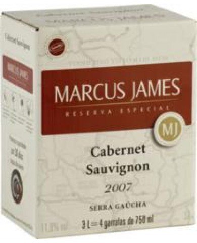 BAG 3L MARCUS JAMES Cabernet Sauvignon