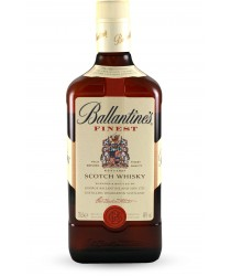 "Whisky Ballantine's Finest ""08 anos""."