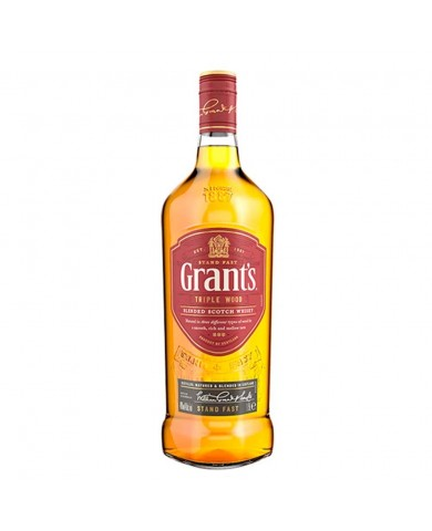 Whisky Grants Triple Wood