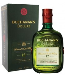 Whisky Buchanan's 12 anos.